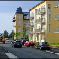 Nu går det att köra genom Söderby park
