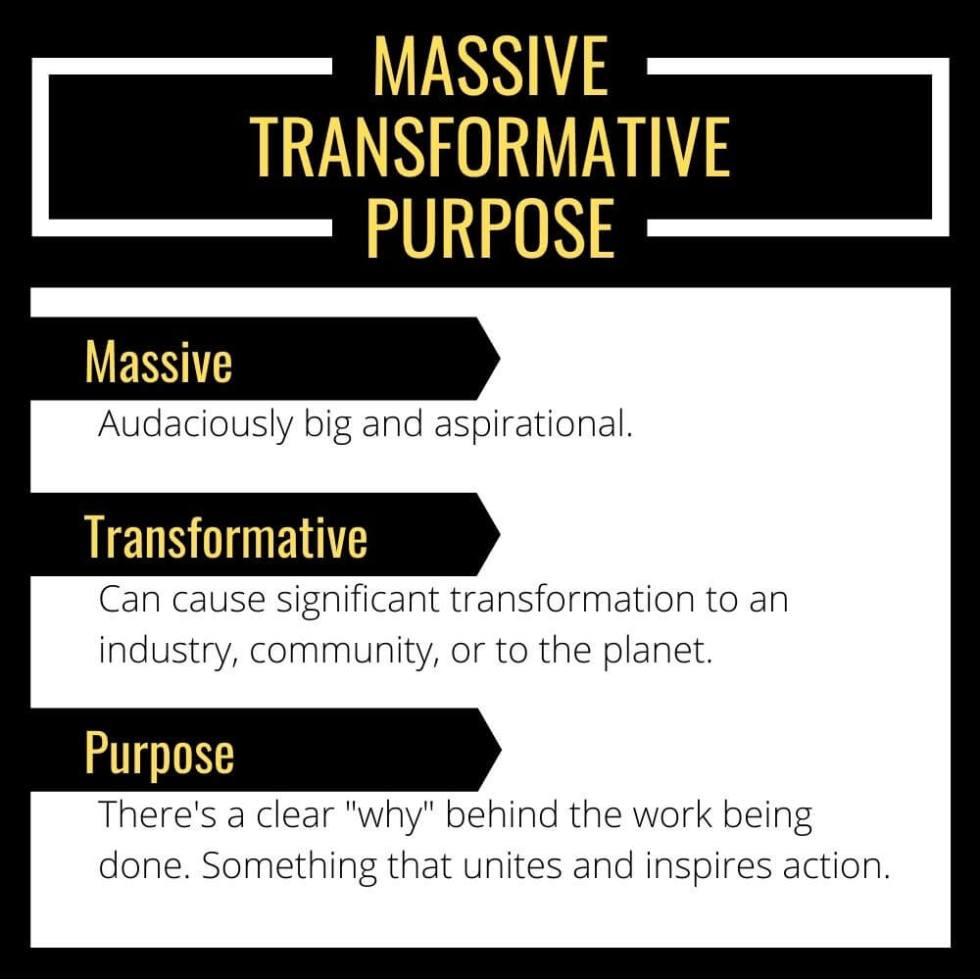 Massive Transformative Purpose definition