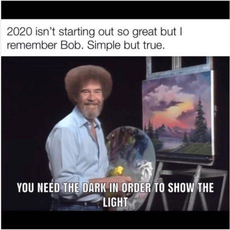 Bob Ross meme