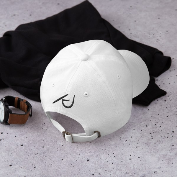 KJ Design White Hat Back Product Mockup