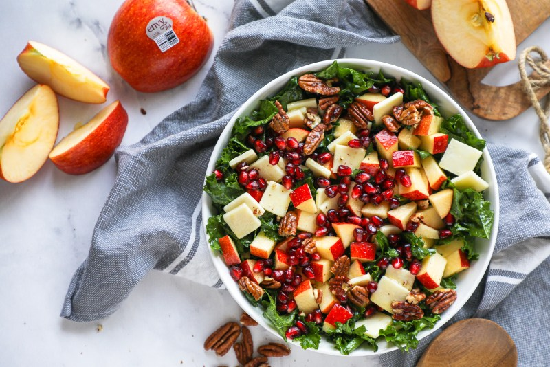 Whether it's served as a side dish or as a light lunch or dinner, this delicious apple salad is sure to be a crowd pleaser!