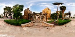 """Hadrian's Gate"" Pano001 ©LEVENT ŞEN"