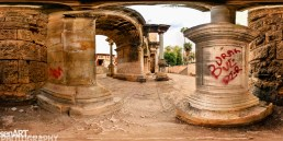 """Hadrian's Gate"" Pano004 ©LEVENT ŞEN"