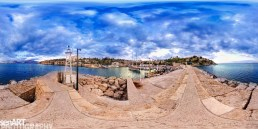 """Old Harbor"" Pano001 © LEVENT ŞEN"