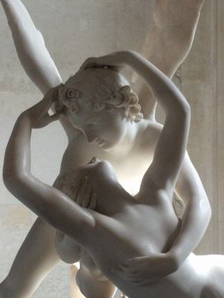 """""""Psyche Revived by Cupid's Kiss"""" by Antonio Canova (1793, Louvre)"""