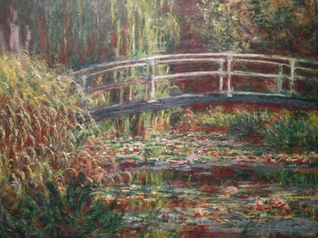 """""""Nympheas Water Lily Basin Pink Harmony"""" by Claude Monet (1900, Musée d'Orsay)"""