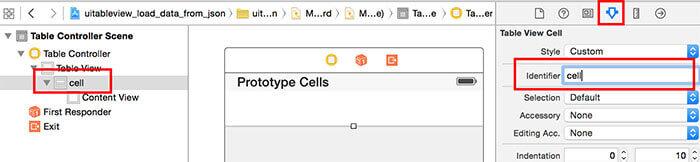 Swift: cell identifier