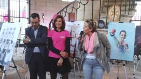 A Givry mardi 4 octobre, exposition, marche, rencontre et dégustation avec les viticultrices locales et concert était au programme de la mobilisation