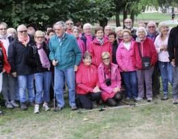 A Gergy samedi 8 octobre, on marchait en famille contre le cancer des bords de Saône à la forêt