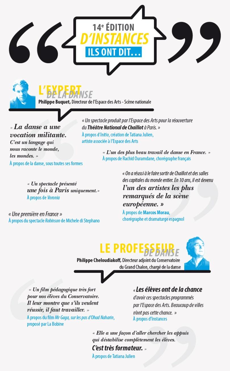 infographie instances