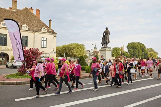 Lancement d'octobre rose 2016 dans le Grand Chalon