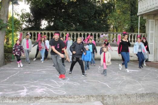 A Champforgeuil, les enfants se mobilisent pour octobre rose