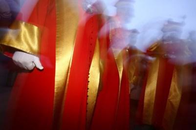 Les chevaliers du Tastevin pour la Saint-Vincent tournante 2017 / Photo Jean-Luc Petit