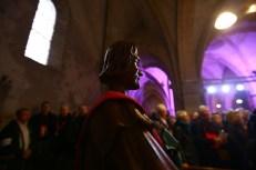 Statue de Saint-Vincent Mercurey à la messe de la Saint-Vincent tournante 2017 / Photo Jean-Luc Petit