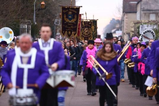 Harmonie de Saint-Rémy pendant le défilé