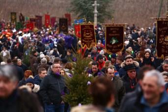 Foule et défilé de la Saint-Vincent Mercurey 2017 / Photo Jean-Luc Petit