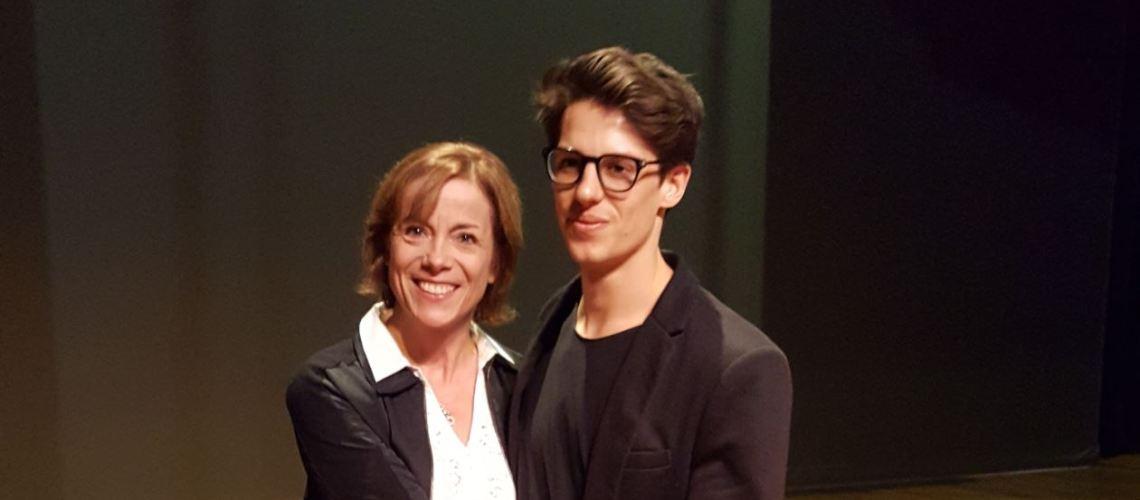 Germain Louvet et Sylvie Mondoulet