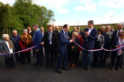 Inauguration du parking Relais de St Remy