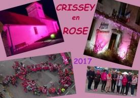 La ville de Crissey se pare des couleurs d'Octobre rose