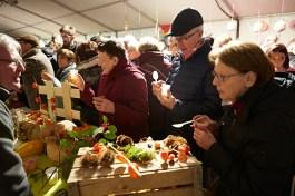 Des décorations thèmatique pour chaque participants au festival de la soupe de Chalon sur Saône