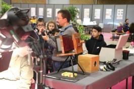 appareil photo du musée Nicephore Cite au Village des Sciences