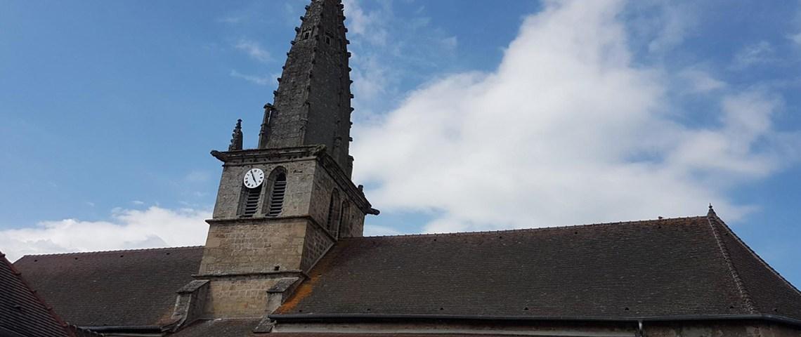 La restauration de l'église de Saint-léger-sur-Dheune sera un travail de longue haleine