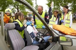 simulation-accident-de-voiture-forum-secours-et-santé-2019
