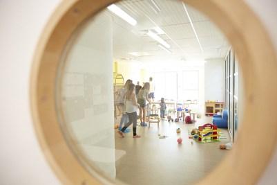 salle d'activités de l'Espace petite enfance le Lac à Chalon-sur-saône