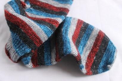Vampire Queen Stripy Socks | Kaleidoscope City | www.kaleidoscopecity.wordpress.com/blog