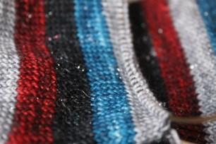 Vampire Queen Stripy Socks   Kaleidoscope City   www.kaleidoscopecity.wordpress.com/blog
