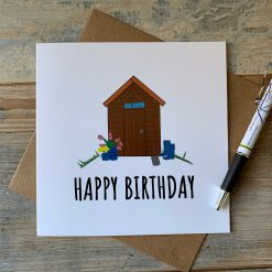 Happy Birthday Gardeners Card