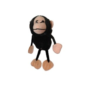 Kaleidoscope Therapy Chimp Finger Puppet