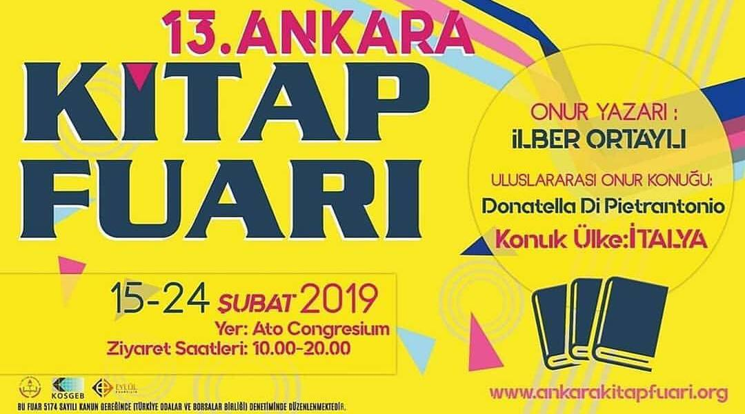 13 Ankara Kitap Fuari 2019 Imza Gunleri Ve Etkinlik