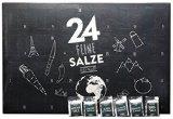 Salzkalender - Großer Adventskalender mit 24 Salzen aus aller Welt