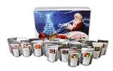 Tee - Adventskalender - 24 x Winterlicher Tee aus aller Welt und von jeder Sorte! (*BLAU*)