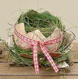 Oster Nest Wilmar, Ei-Schale Osterdekoration 2-fach sort. (H 13cm)