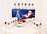Tee - Adventskalender - 24 x Winterlicher Tee aus aller Welt und von jeder Sorte! (100g/4,83€) (Blau)