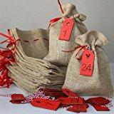 Kaffee-Adventskalender   Weihnachtskalender mit 24 sortenreinen und hochwertigen Kaffees aus der ganzen Welt   Der Kaffeekalender zur Adventszeit ItemWeight 36g, FlavorName ganze Bohnen