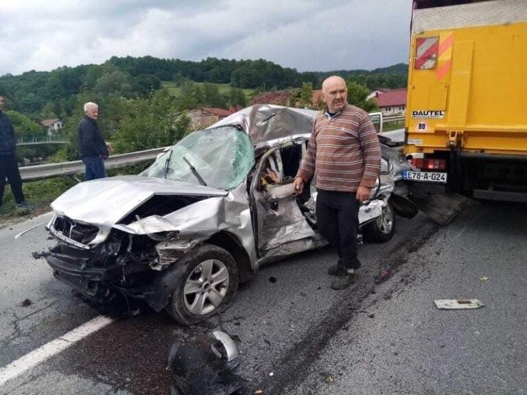 Stravična saobraćajna nesreća kod Srebrenika: Poginule dvije osobe ...