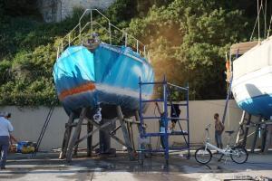 erste Schicht - neuer Waserpass