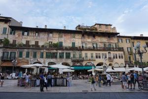 Verona, knapp vorm berüchtigten Balkon
