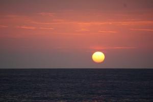 Roncella, Aufbrauch bei Sonnenaufgang