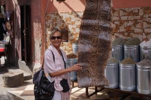 Marrakesh, Schlangenbeschwörerin