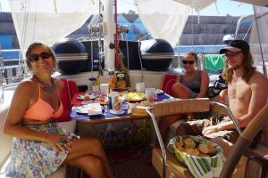 Fuerteventura, Geburtstagsfrühstück
