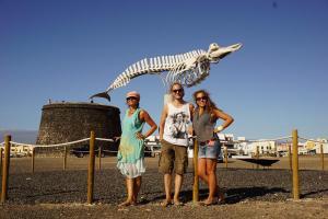 Fuerteventura, Lackners und abgenagter Wal