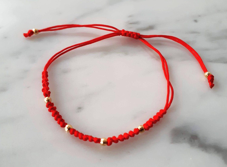 Pulsera Hilo Roja
