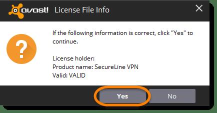 Avast Secureline VPN Activation Key