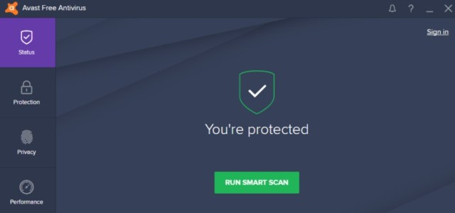 avast protected