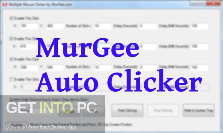 Murgee Auto Clicker crack