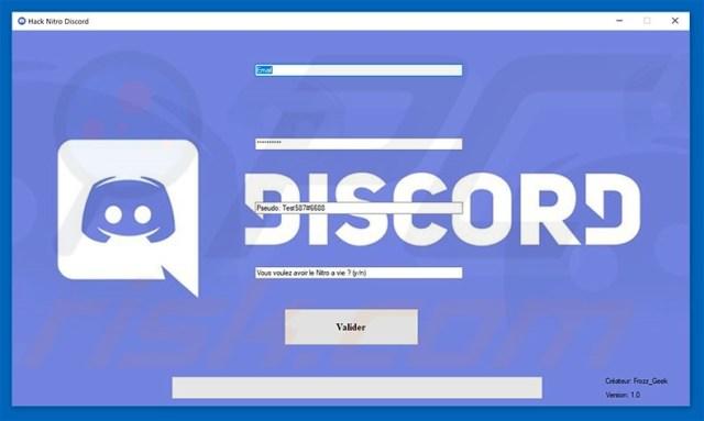 Discord Nitro Hack